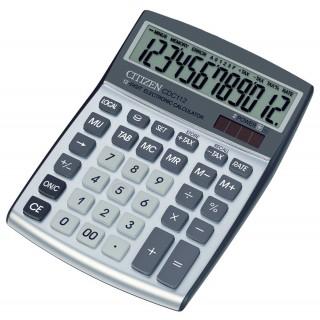 CITIZEN CDC-112 Taschenrechner 12-stellig silber