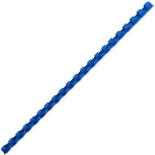 ACCO Binderücken mit 21 Ringen für A4 6 mm 100 Stück blau