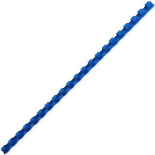 ACCO Binderücken mit 21 Ringen für A4 10 mm 100 Stück blau