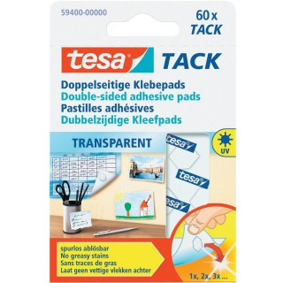 TESA Klebepad 59400 doppelseitig transparent