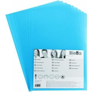 BIELLA Aktenhülle 1784095 100 Stück A4 160 my blau