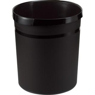 HAN Papierkorb aus Kunststoff 18 Liter schwarz