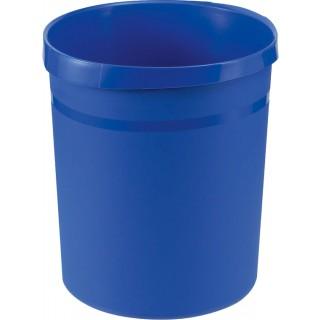HAN Papierkorb aus Kunststoff 18 Liter blau