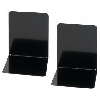 MAUL Buchstütze breit 2 Stück schwarz