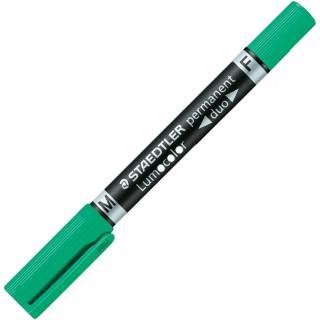 STAEDTLER Folienstift Duo 348 F+M grün