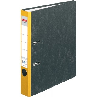 HERLITZ Ordner A4 5 cm gelb