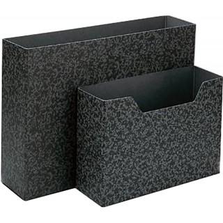 Ordnungsbox aus Hartpappe schwarz
