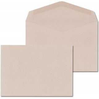ÖKI Kuvert 1.000 Stück C6 gummiert grau