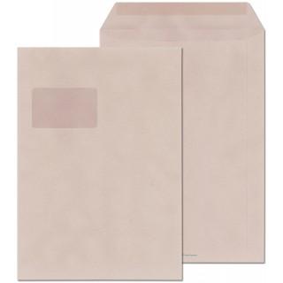 ÖKI Fenstertasche 250 Stück C4 gummiert grau