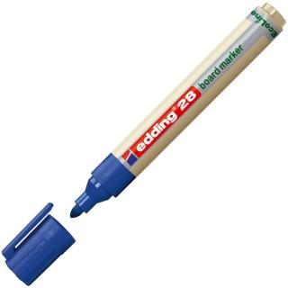 EDDING Whiteboardmarker 28 EcoLine Rundpsitze 1,5-3 mm blau