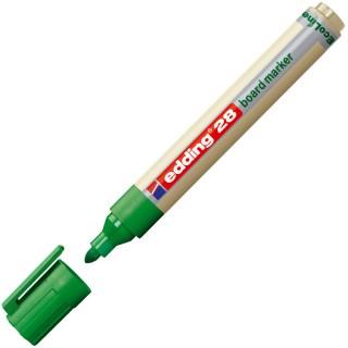 EDDING Whiteboardmarker 28 EcoLine Rundpsitze 1,5-3 mm grün