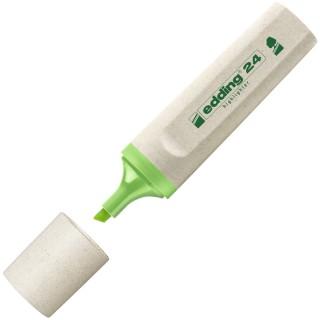 EDDING Textmarker 24 EcoLine Keilspitze 2-5 mm hellgrün