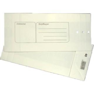 ÖKI Mustersack 10 Stück 115 x 270 mm weiß