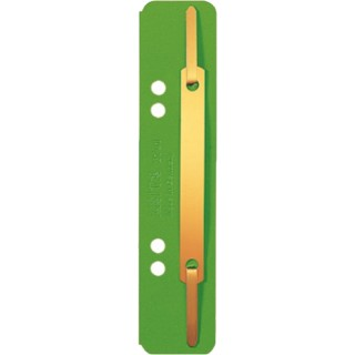 LEITZ Heftstreifen aus Karton 25 Stück grün