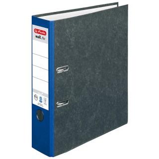 HERLITZ Ordner maX.file nature A4 7,5 cm blau