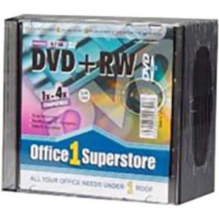 DVD-RW Rohling im Slim Case 4,7 GB 10 Stück
