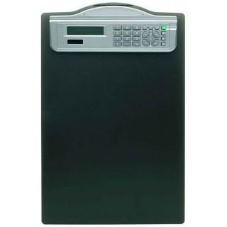 ALCO Klemmbrett 5518 mit Solarrechner DIN A4 schwarz