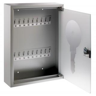 ALCO Schlüsselkasten mit Glastür für 20 Schlüssel