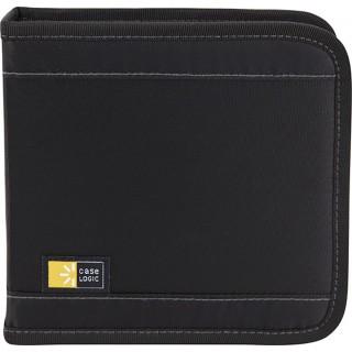 CASE LOGIC CD-Tasche für 16 CDs schwarz
