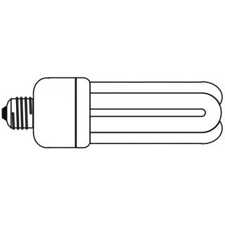 MAUL Energiespar-Leuchtmittel 20 Watt transparent