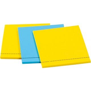 POST-IT Etikettenblock 73 x 73 mm 3 Stück mehrere Farben