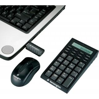 KENSINGTON Wireless Keypad/Taschenrechner und Maus schwarz