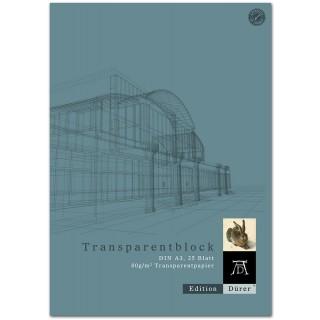 DÜRER Transparentblock A3 25Blatt