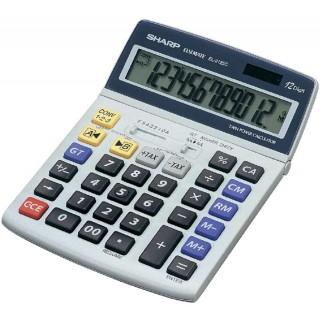 SHARP Tischrechner EL-2125C 12-stellig