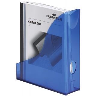 DURABLE Stehsammler Basic blau transluzent