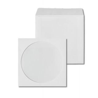 ÖKI CD Hüllen mit Fenster 25 Stück weiß