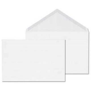ÖKI Billet-Kuvert E6/W90 500 Stück DIN E6 gummiert ohne Fenster 90g/m² weiß