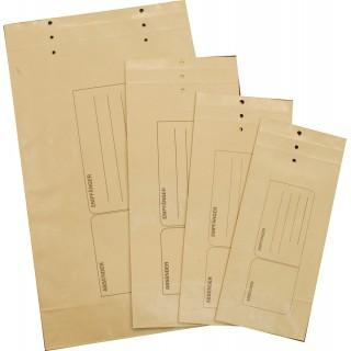 ÖKI Mustersack mit Druck 105 x 225 mm braun