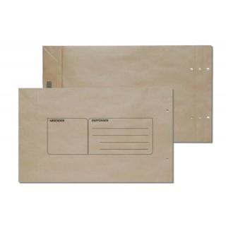 ÖKI Mustersack 230 x 410 + 50 mm 140 g/m² mit Aufdruck braun