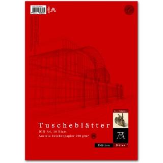 DÜRER Tuscheblatt A4 10 Blatt