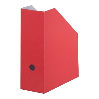 SMARTBOX PRO Stehsammler aus Karton rot