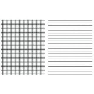 URSUS GREEN Linienblatt Quart 100 Blatt liniert/kariert