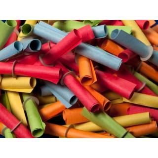 Röllchenlose Treffer 1-50 50 Stück mehrere Farben