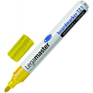 LEGAMASTER Boardmarker TZ1 Rundpsitze 1,5-3 mm gelb