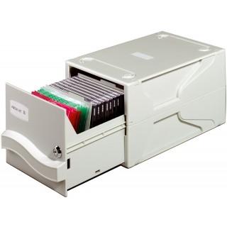 DURABLE Multimedia-Aufbewahrungsbox grau