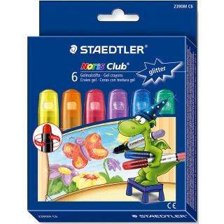 STAEDTLER Gelmalstifte 2390M C6 6 Stück metallic