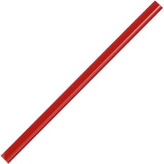 DURABLE Klemmschienen für 30 Blatt 100 Stück rot