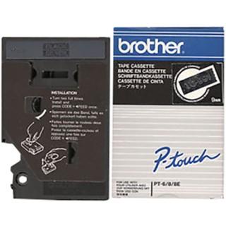 BROTHER P-Touch TC-991 9 mm schwarz auf silber