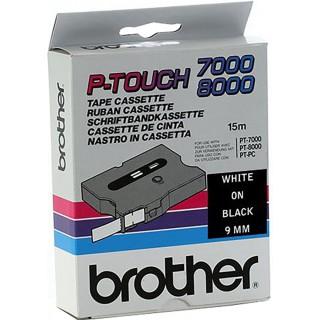 BROTHER P-Touch TX-325 9 mm weiß auf schwarz