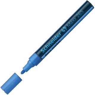 SCHNEIDER Kreidemarker Maxx 265 Rundspitze 2-3 mm hellblau