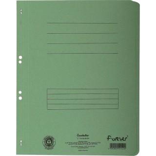 EXACOMPTA Ösenhefter aus Recyclingkarton A4 grün
