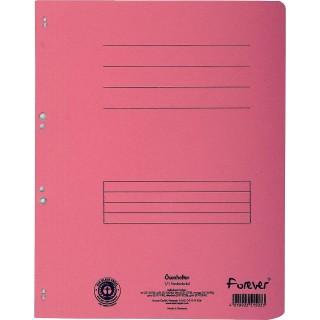 EXACOMPTA Ösenhefter aus Recyclingkarton A4 rosa