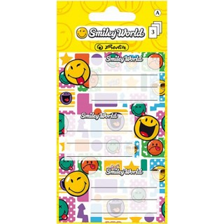HERLITZ Sticker-Etiketten SmileyWorld 9 Stück bunt