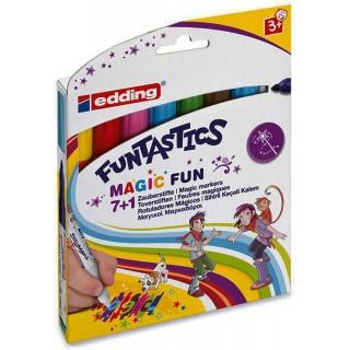 EDDING Magicmarker 8 Stück mehrere Farben