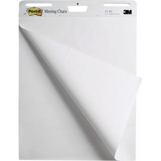 POST-IT® Flipchartblock Super Sticky Meeting Chart 559 1 Block 30 Blatt glatt 63,5 x 76,2 cm weiß