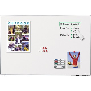 LEGAMASTER Whiteboard Premium Plus 120 x 90 cm